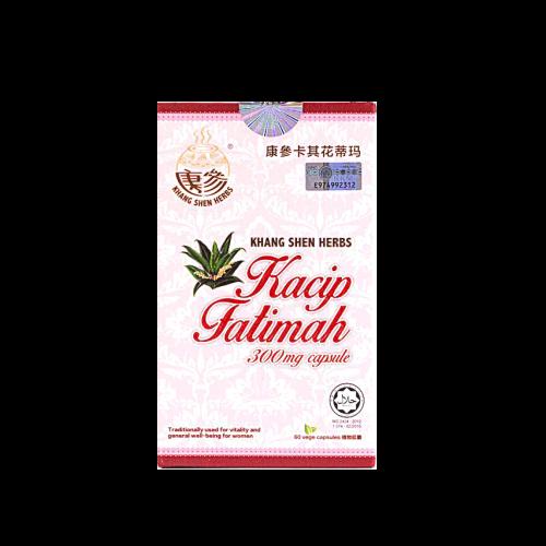 Kacip Fatimah Capsules - Khang Shen Herbs Malaysia